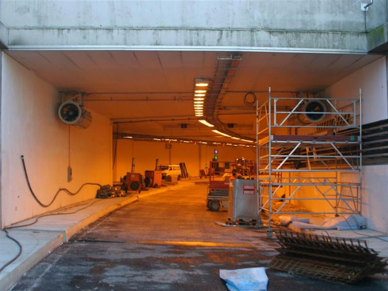 tunnel flughafen tegel